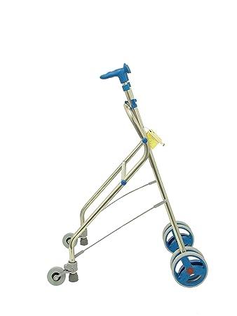Forta fabricaciones - Andador de aluminio para ancianos Rollatino - Azul