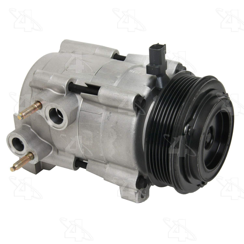 BuyAutoParts 60-81365RK NEW For Suzuki Aerio 2005 2006 2007 AC Compressor w//A//C Repair Kit