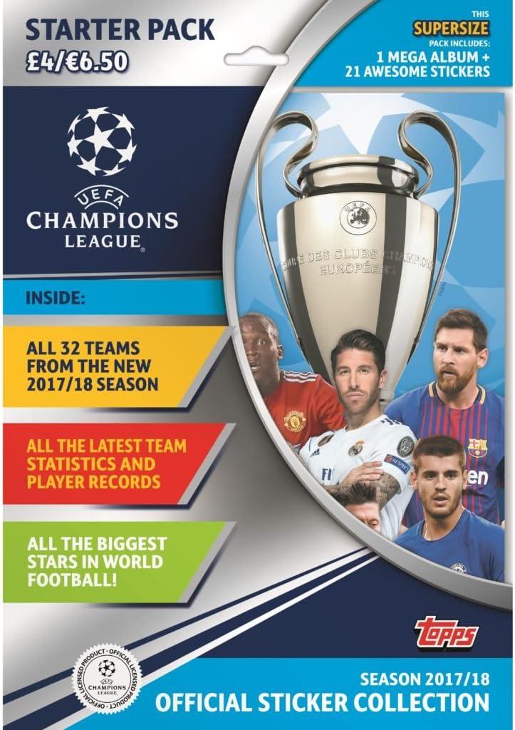 Topps CL173 Liga de Campeones Temporada 2017/2018 - Álbum + ...