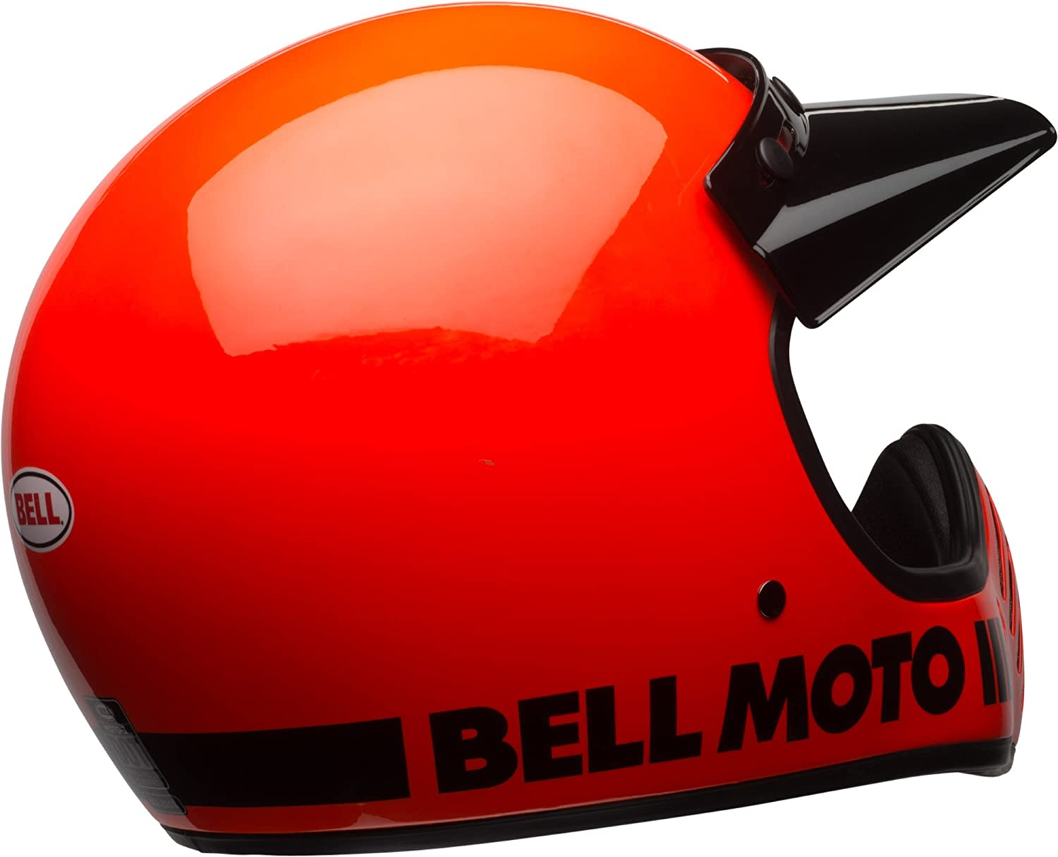 Amazon.com: Bell Moto-3 Off-Road Motorcycle Helmet (Classic Gloss Hi-Viz Orange, X-Large): Automotive