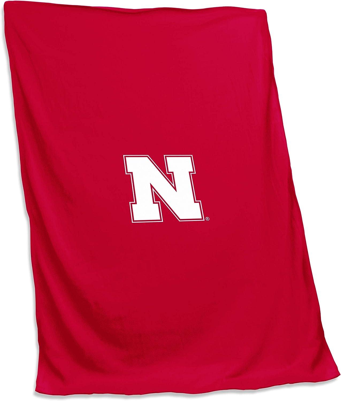 Logo Brands NCAA Unisex Adult Sweatshirt Blanket One Size Multicolor