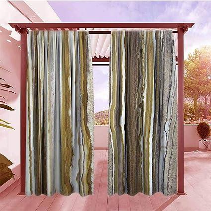 Amazon.com : Balcony Curtains Apartment Decor Onyx Marble ...