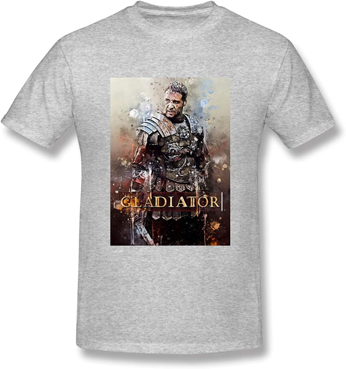 Shawnajjarosz Gladiator Gray Vogue Short Sleeve Graphic T-shirt