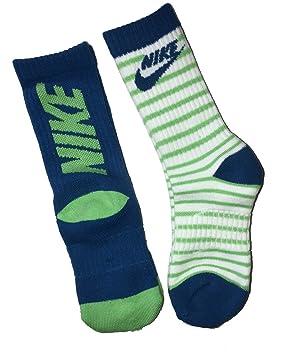 Nike - Calcetines de Rayas para niños (2 Unidades, Talla 13C ...