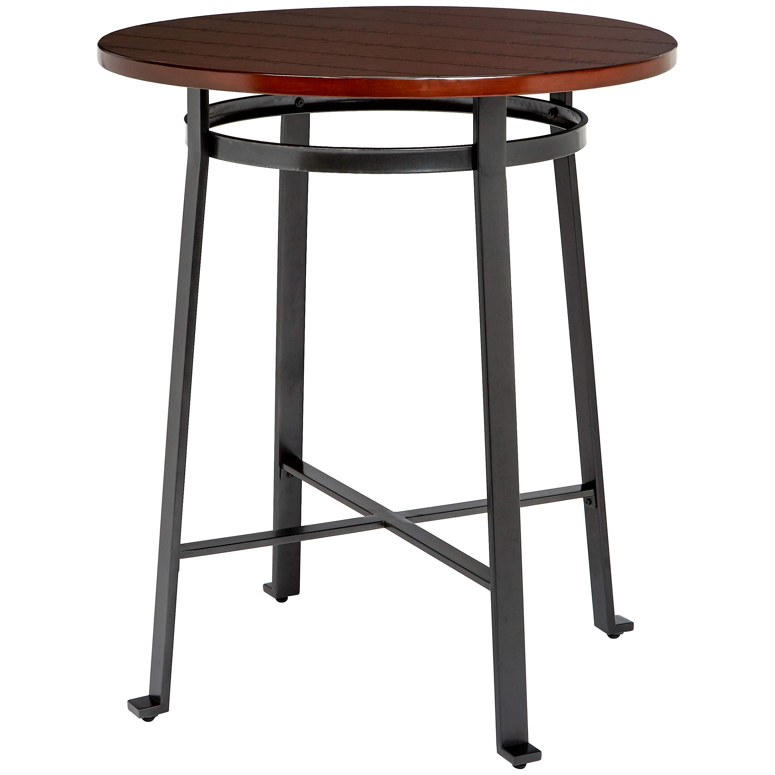 Ball & Cast Bar Table - 42 Inch, Rustic Brown by Ball & Cast