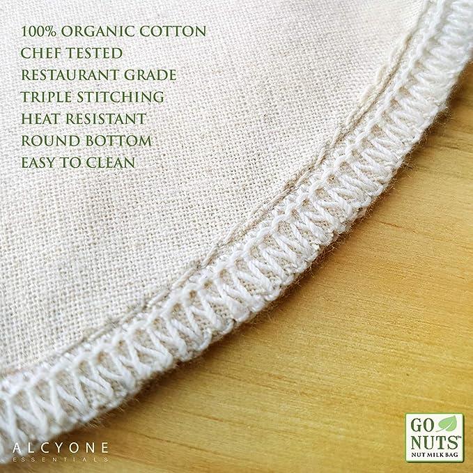 Amazon.com: GoNuts - Bolsa de leche de algodón 100% orgánico ...
