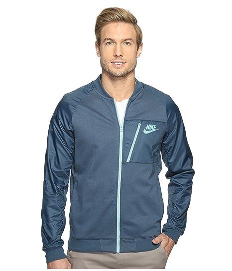 93586f94be9a Nike mens Sportswear Advance 15 Fleece Full-Zip Jacket 846878-464 M -  Squadron Blue