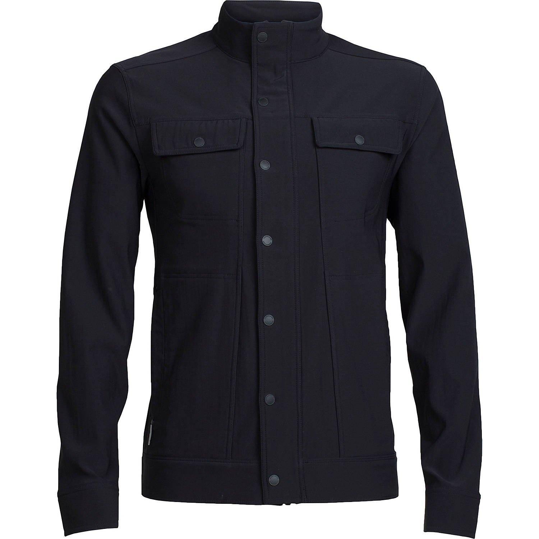 アイスブレーカー アウター ジャケット&ブルゾン Mens Utility Softshell Jacket Black [並行輸入品] B075SWZ93Z