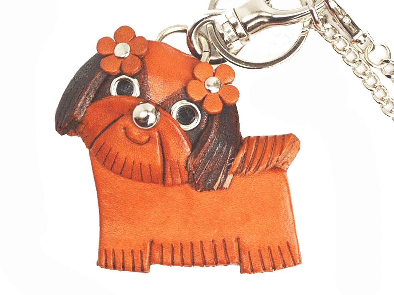 (Handmade in Japan hergestellt neuen Handwerker) aus echtem Leder Tasche Charme Shih Tzu Vanca CRAFT (Japan-Import)