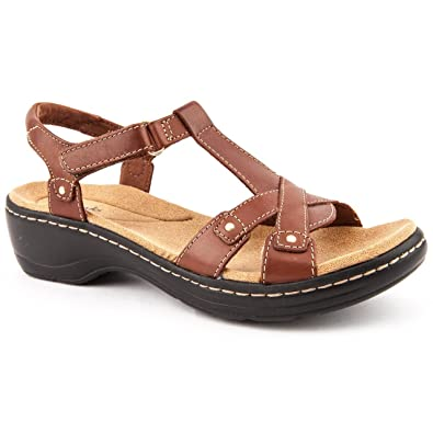 078e980339a Clarks Ladies Hayla Flute Tan Casual Sandals Size 8  Amazon.co.uk ...