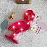 Summer Night Light Flamingo
