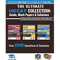 The Ultimate UKCAT Collection: 3 Books In One, 2,650 Practice Questions, Fully Worked Solutions, Includes 6 Mock Papers…
