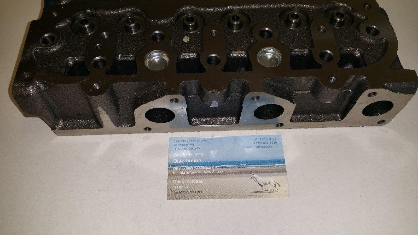 New Kubota D902 ''BARE'' Genuine OEM Kubota Cylinder Head for RTV 900