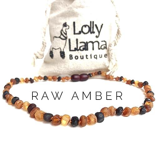 Baltic Amber Teething Necklace For Baby Girl Amazon Com