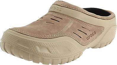 64621dd9edfed Amazon.com | Crocs Men's Yukon Sport Lined Clog, Khaki/Coffee, 8 M ...