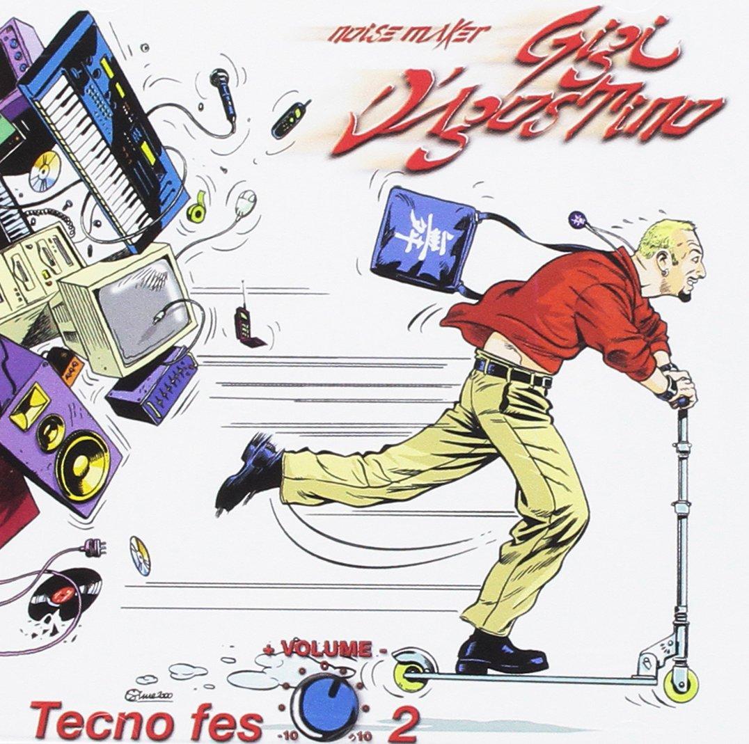 CD : Gigi D'Agostino - Tecno Fes, Vol. 2 (CD)