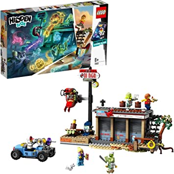 LEGO - Hidden Side Ataque al Shrimp Shack Juguete de construcción ...
