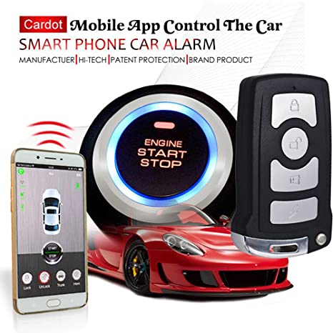 Mobile app Automotive coche alarma de seguridad con GPS ...