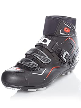 Zapatos BTT Breeze Rain Ciclismo Sidi, color negro, tamaño 41