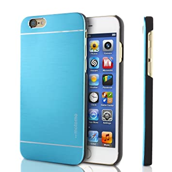 Funda iPhone 6 , MOTOMO Carcasa Protectora Aluminio ...
