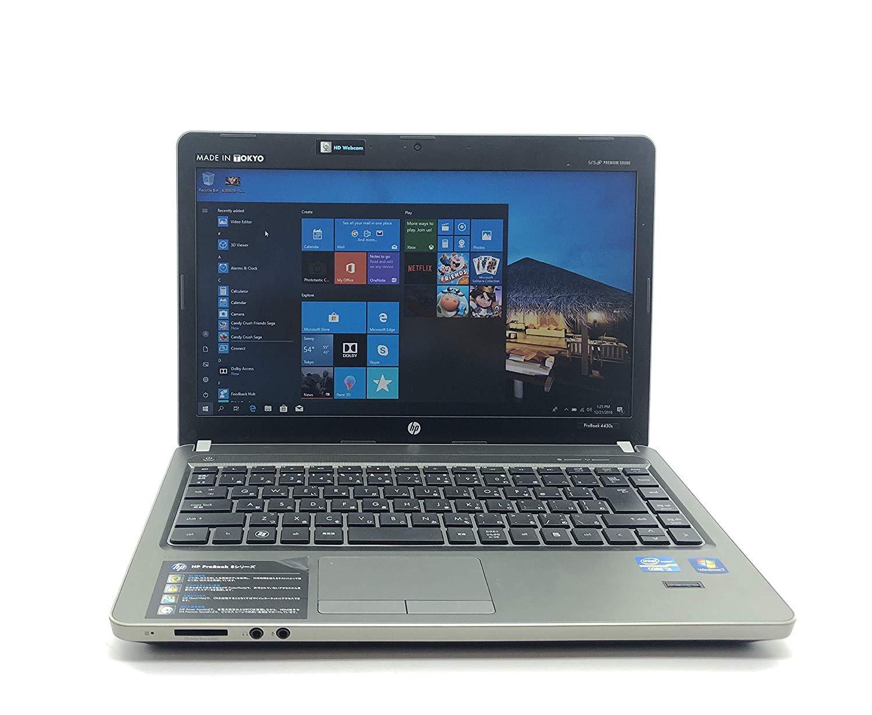 中古 HP English Laptop Computer Intel Core i5 -2410M 2.30 GHz, 4 GB, 320 GB, Inbuilt Camera, Inbuilt Wifi, DVD, Windows 10 Pro, Used, HP ProBook 4430s B07RBL1FTF