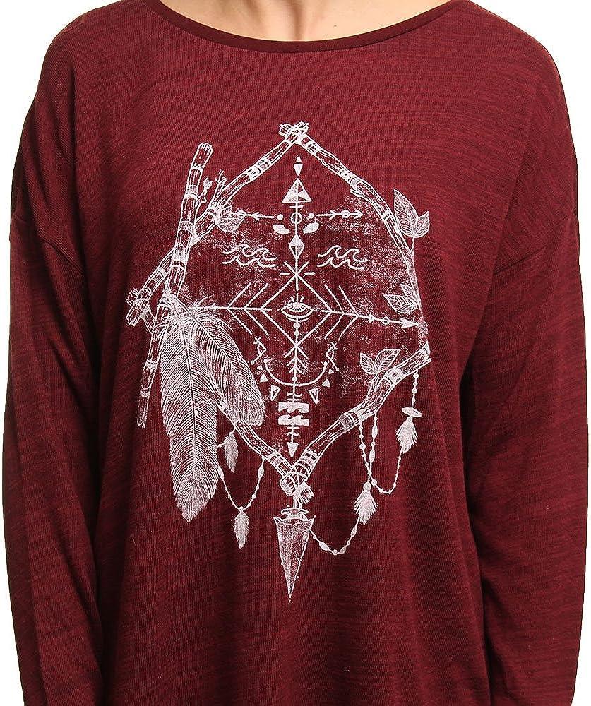 Billabong T-shirt da donna invernale Magical T/è Europe G.S.M