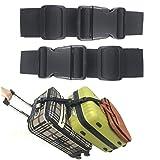 Ajmyonsp Pack of 2 Add a Bag Luggage Strap