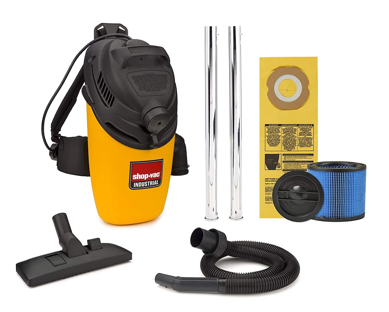 Shop-Vac 4-Gallon 6.0-Peak HP Back Pack Vacuum - 2861010