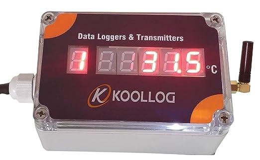 f7cb59467535bf Koollog Cloud Based Online Data Logger with Free Lifetime Mobile Koollog  Lite App Access (4 Channel): Amazon.in: Industrial & Scientific