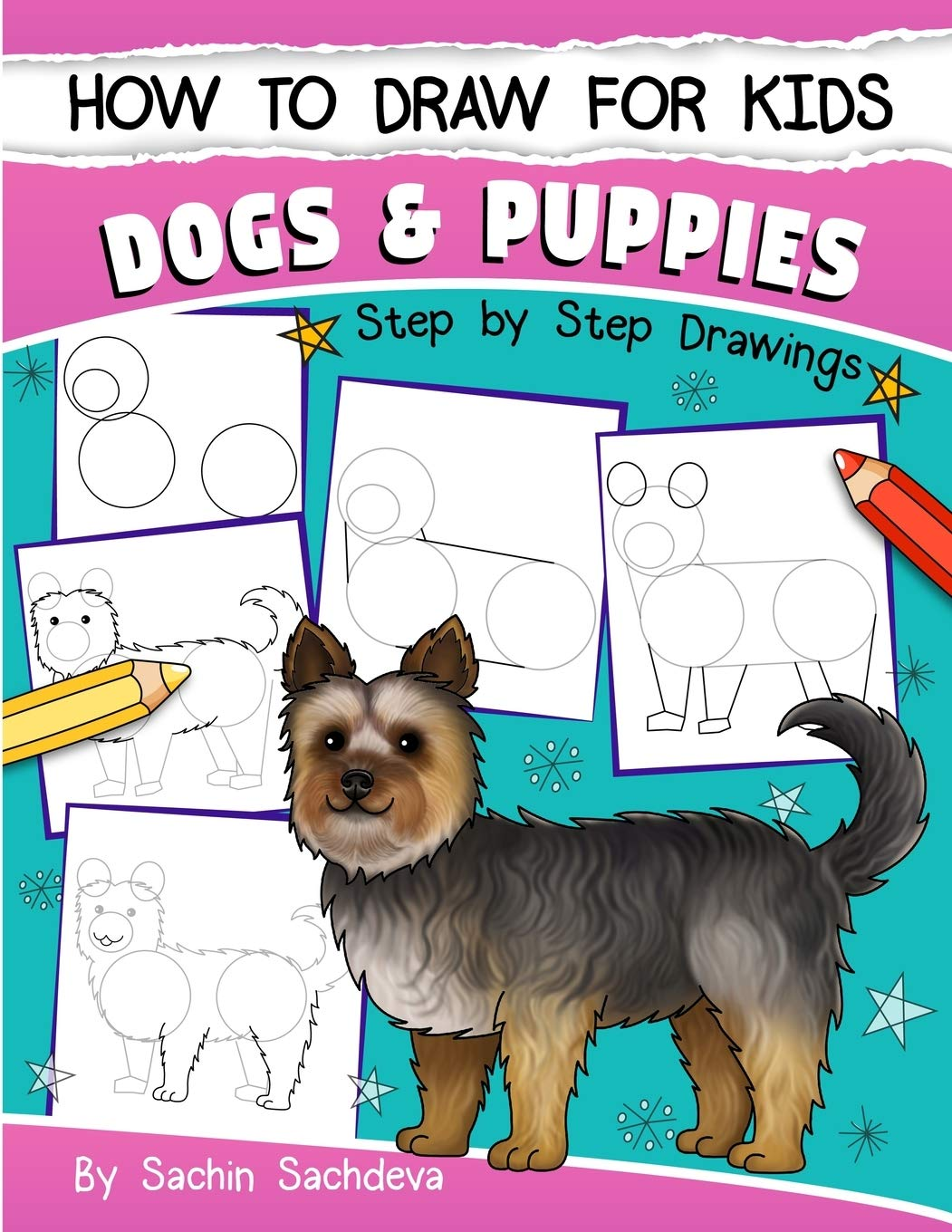 How To Draw For Kids Dogs Puppies An Easy Step By Step Guide