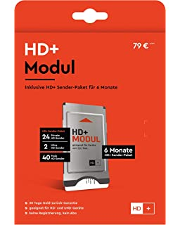 SmardTV CI+ - Módulo CI+ de televisión de pago (programas HD, 12 meses): Amazon.es: Electrónica