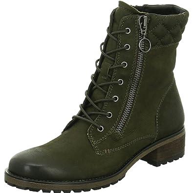 Khaki Spm Boots Damen Green Stiefeletten Mesti Shoesamp; 9DIEH2