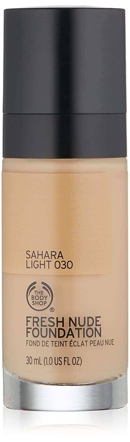 The Body Shop Fresh Nude Foundation, Shade 30 Sahara Light, 1 Fluid Ounce by The Body Shop