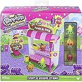Shopkins Kinstructions Shopping Pack Fruit and Veg Stand Building Set (Multi-Colour)