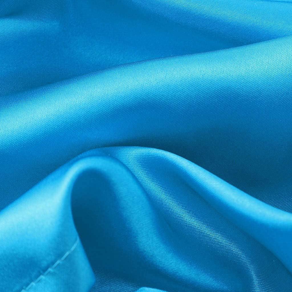 Banstore Toddler GirlsPajamas Solid Silk Satin Kimono Robes Bathrobe Sleepwear