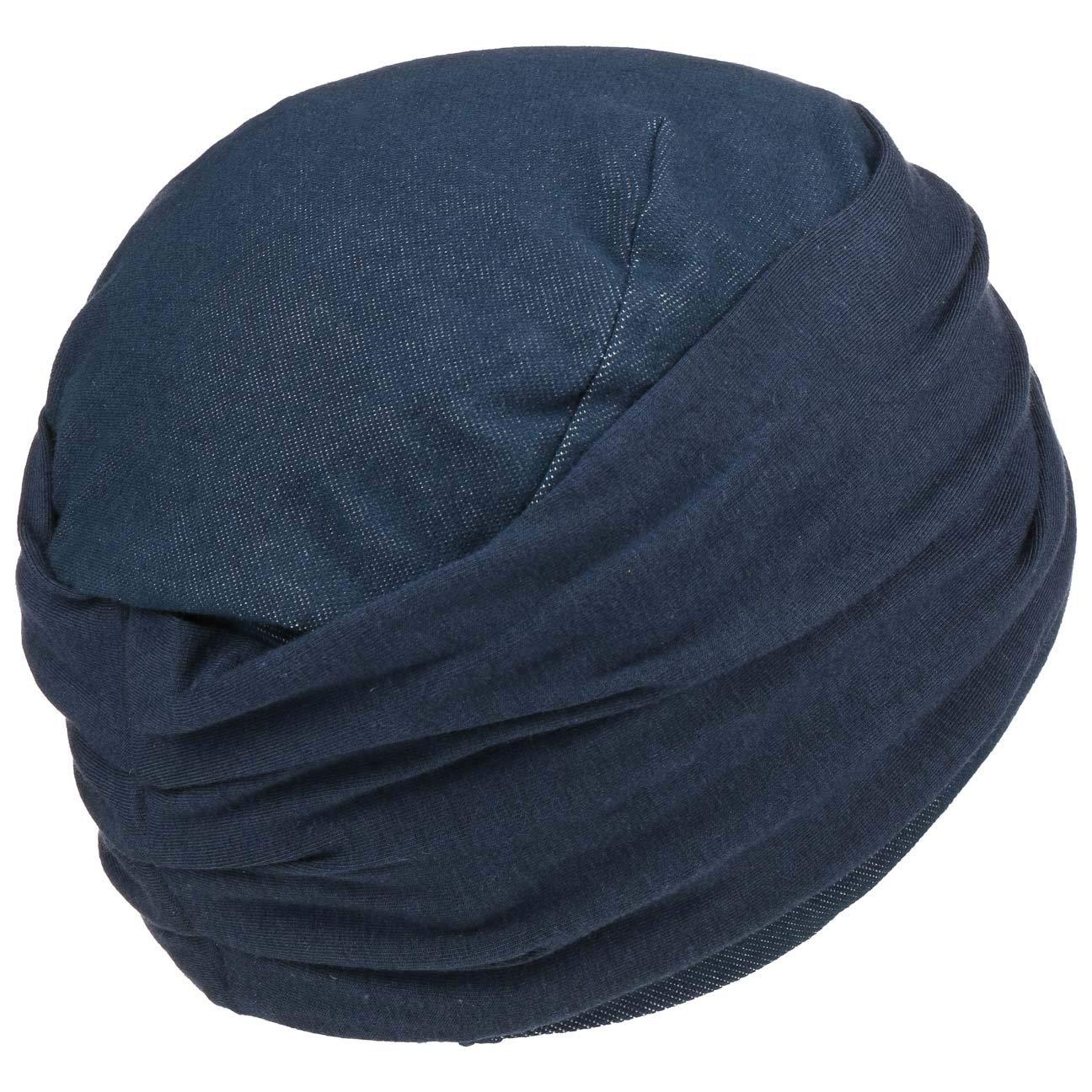 Christine Headwear Zoya Stretchy Denim Turban Stoffturban Damenturban Kopftuch Chemo-Kopfbedeckung Mit Futter