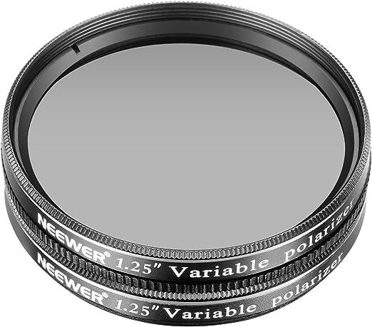 Neewer 1.25 pulgadas 2 piezas CPL lente Filtro Polarizador Circular variable para Tel