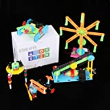 5 Set STEM Kit,DC Motors Electronic Assembly Robotic Kit DIY STEM Toys for Kids,Building Science ExperimentsProjects Kits for Boys and Girls