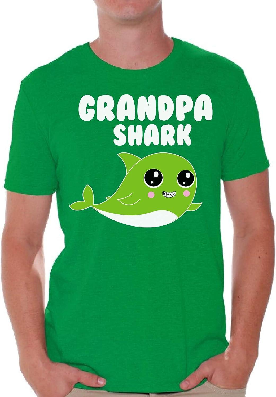 Awkward Styles Grandpa Shark Shirt Shark Outfit Family Shirt for Him Shark Gift for Men