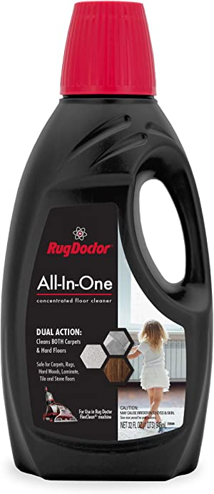 Carpet Cleaner Solution   Rug Doctor All-In-One 32 oz. Use with FlexClean Machine