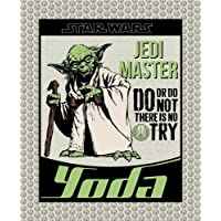 1 Yard Quilting Cotton for Sewing – Lucasfilm - SW Yoda - 100% Cotton - Soft, Decorative Material - Pre-Cut 44-45 Inches…