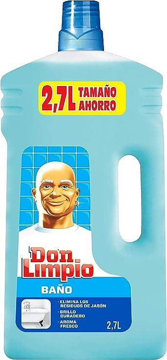 Don Limpio Baño Limpiador Líquido 2.7 l: Amazon.es: Alimentación y ...