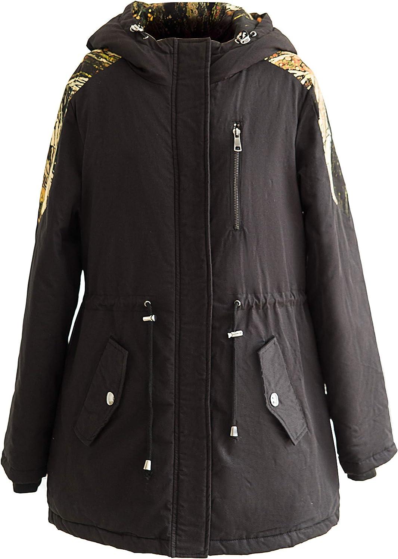 Warm Parka Coat Womens