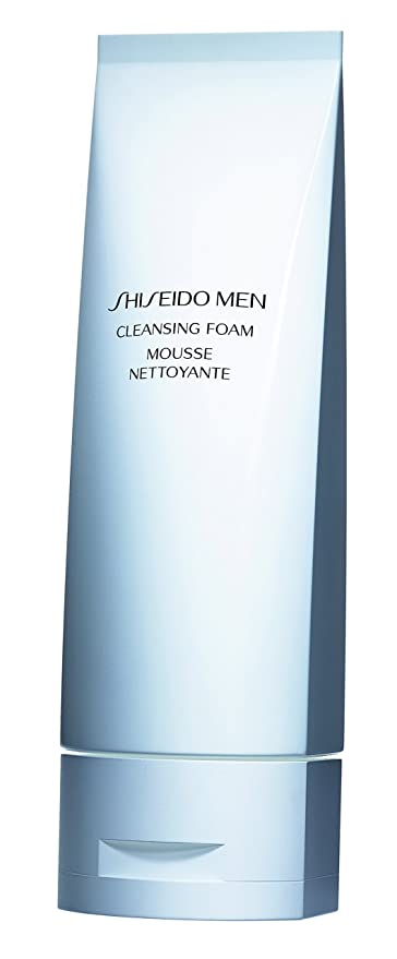 Shiseido Men Cleansing Foam Cleanser for Men, 125ml/4.6oz