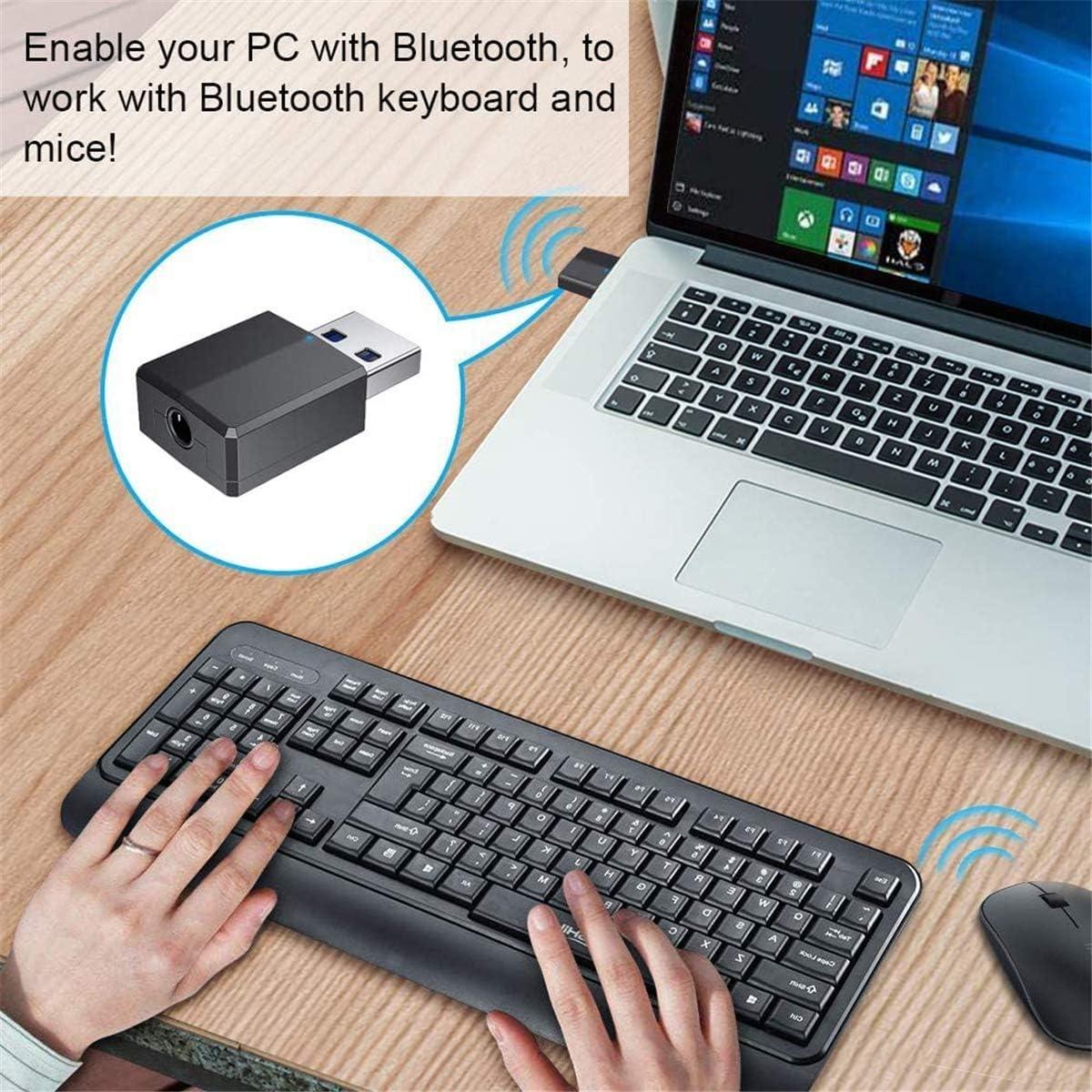 Bluetooth USB Dongle Adapter fr PC/Heim/Kopfhrer/TV Bluetooth ...
