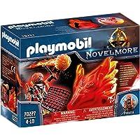 PLAYMOBIL Novelmore 70227 Espíritu de Fuego Bandidos Burnham, Para Niños de 4 a 10 Años de Edad