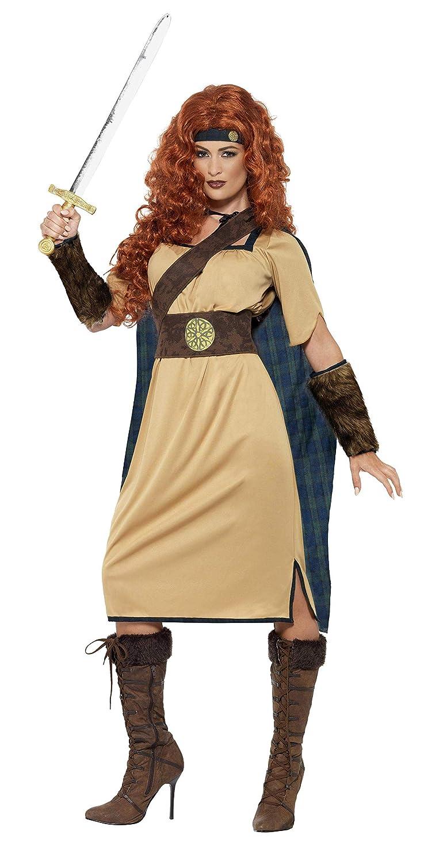 Smiffys - Disfraz de Reina Guerrera (43421M): Amazon.es: Juguetes ...