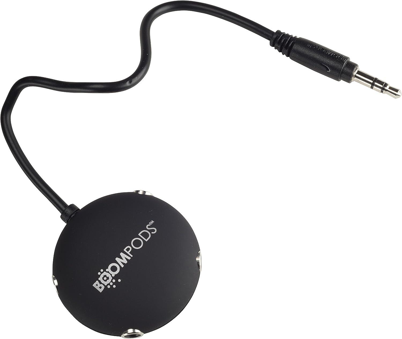 Boompods Multipod Audio Splitter Black Elektronik