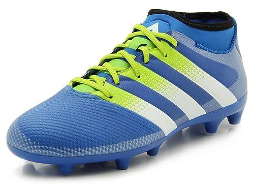new product d354d 7c8b5 Adidas Performance Ace 16.3 Primemesh FG AG - Cuchillo de fútbol para Hombre,  Azul