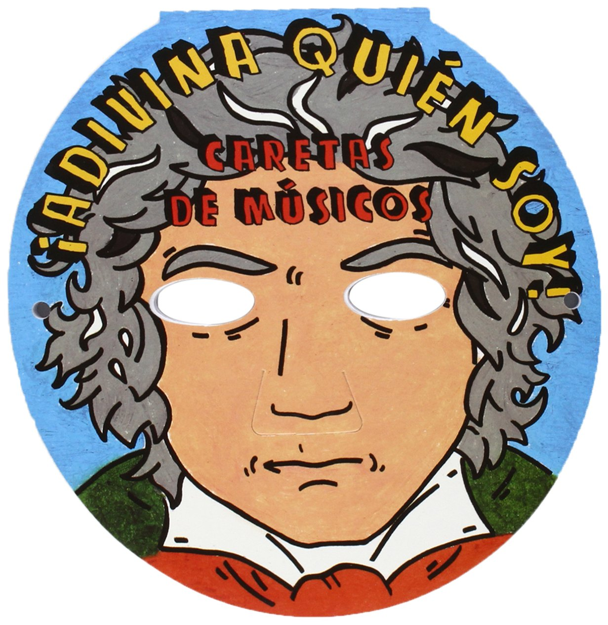 Caretas de Músicos - Adivina quién soy: Amazon.es: Maiquez, Laia ...